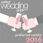 Perfect Wedding Guide preferred Vendor 2016